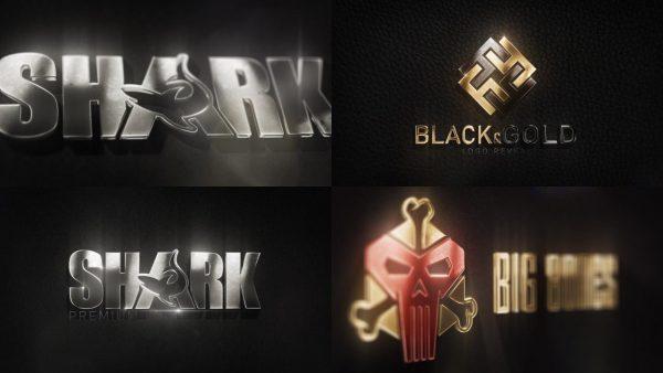 پروژه آماده افترافکت : لوگو سه بعدی 3D Metal Logo