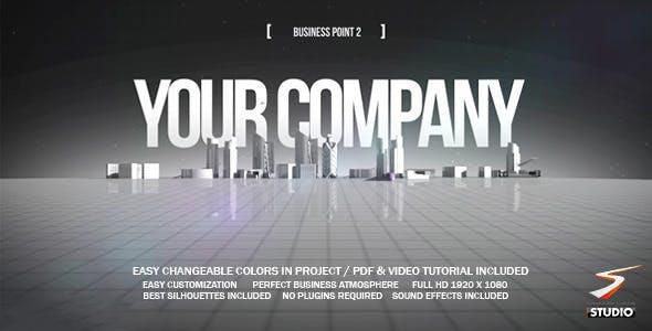 پروژه آماده افترافکت : تیزر تبلیغاتی شرکت Business Point 2 4133689