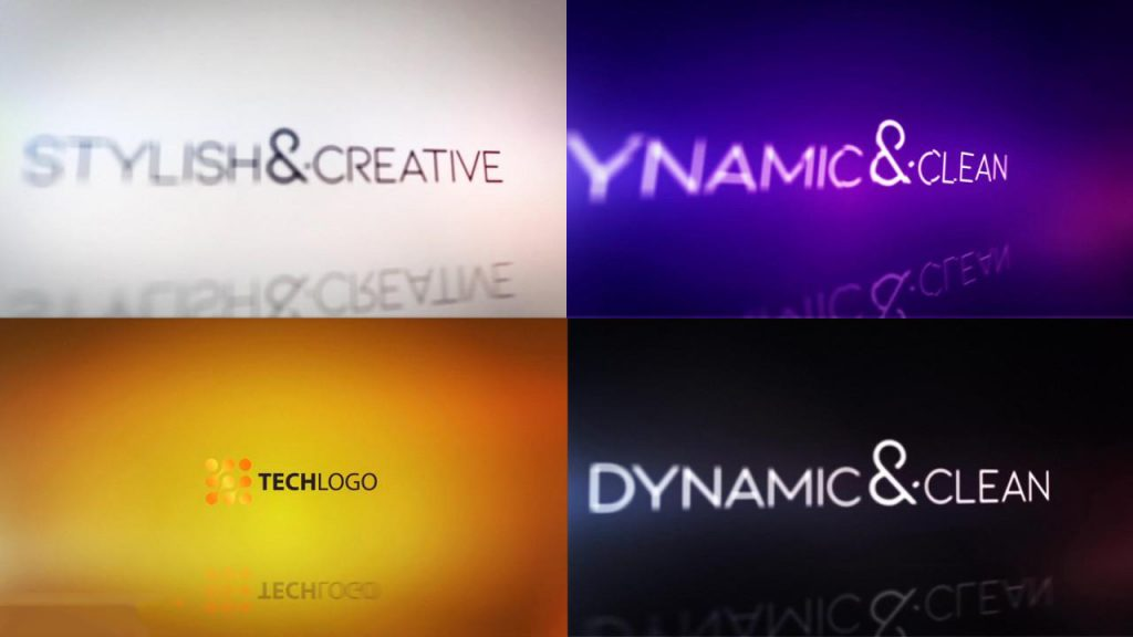 پروژه آماده افترافکت : لوگو Clean Titles And Logo Reveal 244550