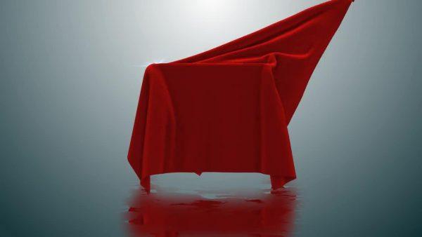 پروژه آماده افترافکت : پرده برداری از لوگو Cloth Logo Uncover 264234