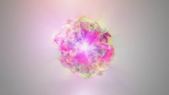 پروژه آماده افترافکت : لوگو گل Colorful Flowers Logo Reveal 17182581