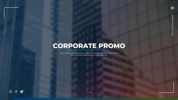 پروژه آماده افترافکت : تیزر تبلیغاتی Corporate Promo 133199