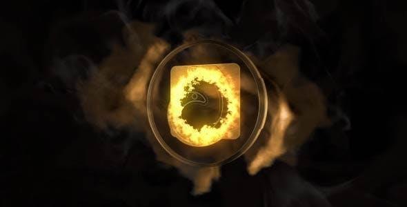 پروژه آماده افترافکت : لوگو موشن Dark Sands Logo 17047723