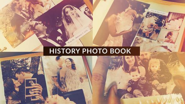 پروژه آماده افترافکت : آلبوم عکس History Photo Book 22714746
