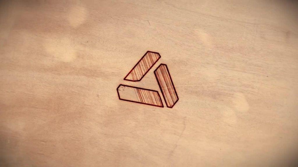 پروژه آماده افترافکت : حک لوگو روی چوب Logo | Burnt Wood 207544