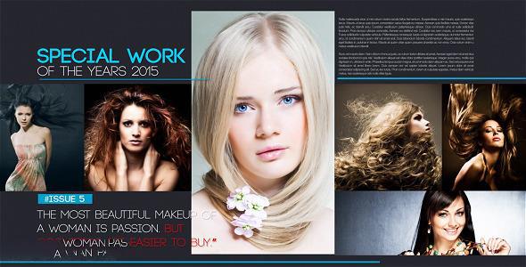 پروژه آماده افترافکت : مجله Magazine Layout 12607946