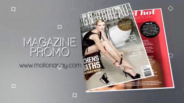پروژه آماده افترافکت : تیزر تبلیغاتی مجله Short Magazine Promo 211139