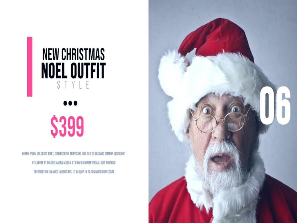 پروژه آماده افترافکت : تیزر تبلیغاتی حراج کریسمس The Market Promo 151633