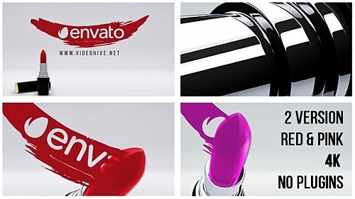 پروژه آماده افترافکت مخصوص برند لوازم آرایشی Lipstick – Stylish Women Logo 14486752