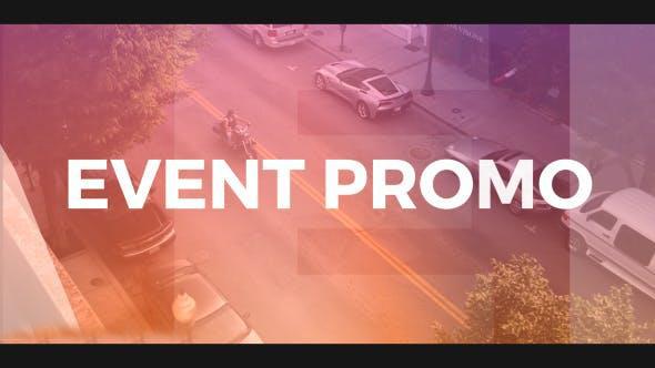 پروژه آماده افترافکت : تیزر تبلیغاتی همایش و سخنرانی Colorful Event Promo 19968555