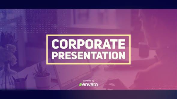 پروژه آماده افترافکت : تیزر تبلیغاتی شرکتی Corporate Presentation 19656382