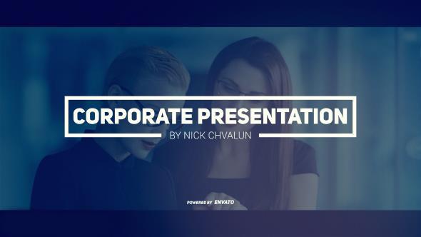 پروژه آماده افترافکت : تیزر تبلیغاتی Corporate Presentation/ Business Promotion 19363725