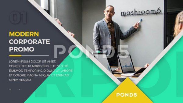 پروژه آماده افترافکت : تیزر تبلیغاتی Corporate Presentation Promo 098487627