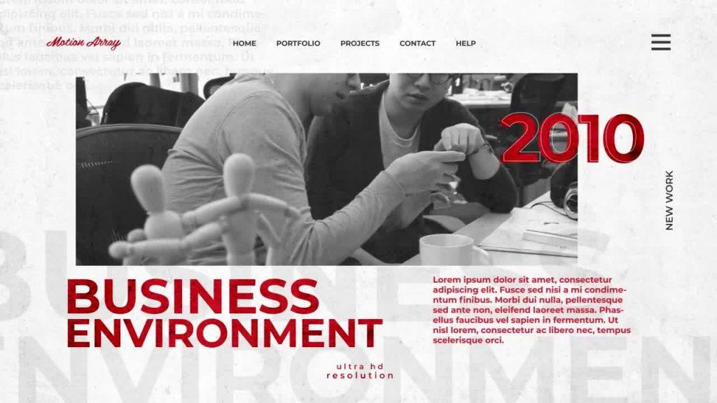 پروژه آماده افترافکت : تیزر تبلیغاتی Corporate Promo 117448