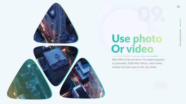 پروژه آماده افترافکت : تیزر تبلیغاتی Corporate Promo 131441
