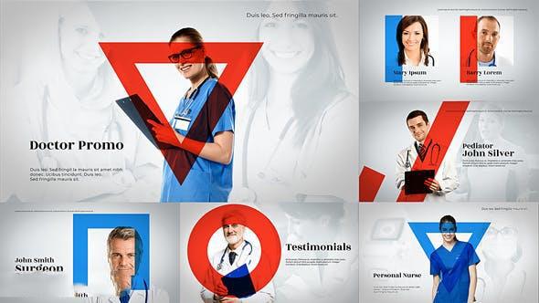 پروژه آماده افترافکت : تیزر تبلیغاتی پزشکی Medical Healthcare Promo 23352392