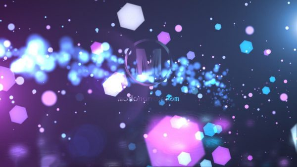 پروژه آماده افترافکت : لوگو پارتیکل Elegant Particles Logo 246057