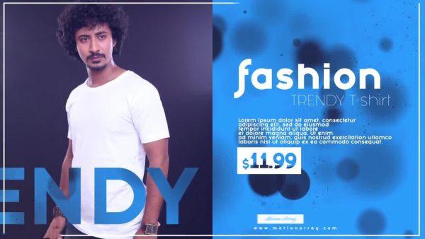 پروژه آماده افترافکت : تیزر تبلیغاتی Fashion Market Promo 128020