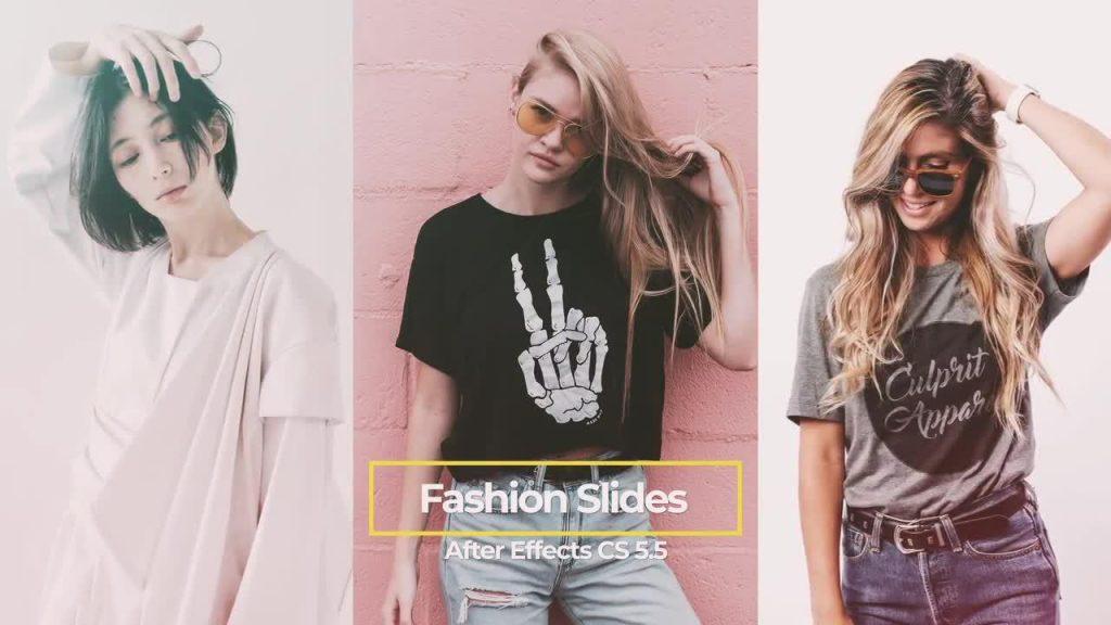 پروژه آماده افترافکت : فشن و شو لباس + موسیقی Fashion Promo 187497