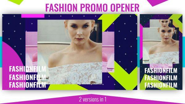 پروژه آماده افترافکت : وله تبلیغاتی فشن Fashion Promo Opener 191406