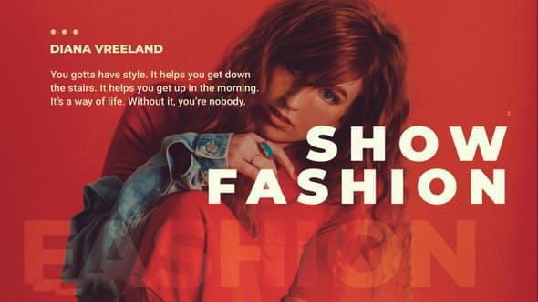 پروژه آماده افترافکت : اسلایدشو فشن Fashion Promo Slideshow 23320620