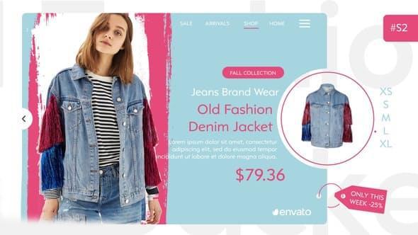 پروژه آماده افترافکت : تیزر تبلیغاتی پوشاک Fashion Shop 22544237