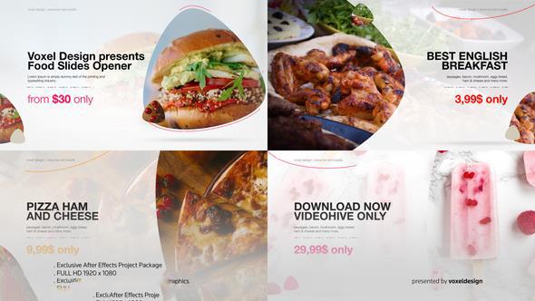 پروژه آماده افترافکت : تیزر تبلیغاتی رستوران Food Product Opener 22598659