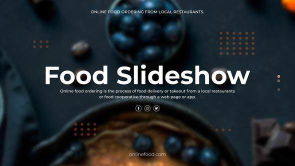 پروژه آماده افترافکت : تیزر تبلیغاتی رستوران Food Slideshow 23333220
