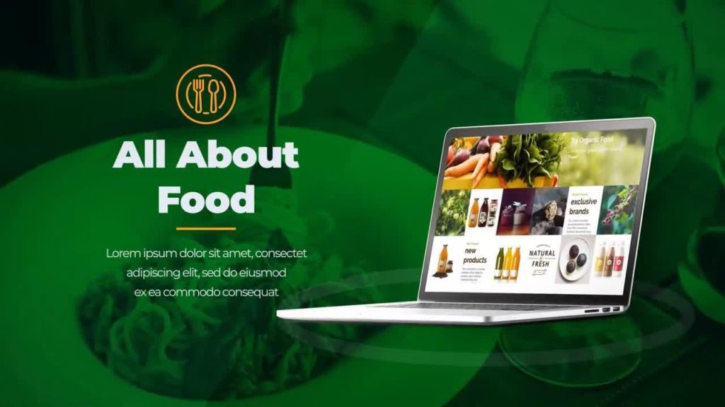 پروژه آماده افترافکت : تیزر تبلیغاتی رستوران آنلاین Food Store & Delivery 152499