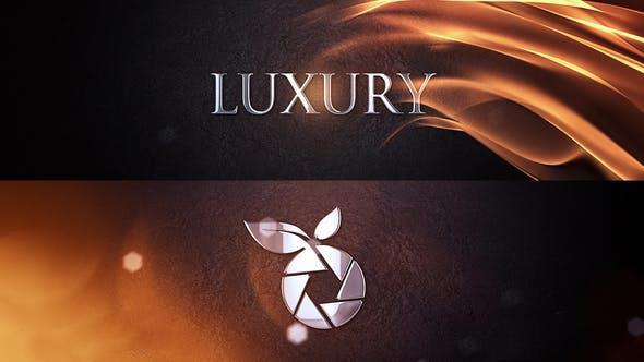 پروژه آماده افترافکت : لوگو لوکس Luxury Logo Intro 24158920