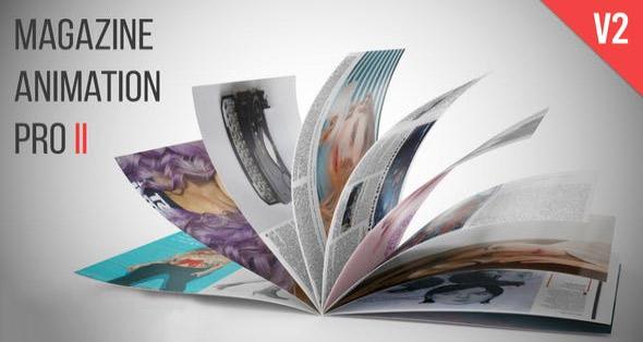 پروژه آماده افترافکت : تیزر تبلیغاتی مجله Magazine Animation Pro II 24783523