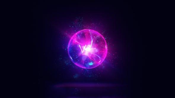 پروژه آماده افترافکت : لوگو پارتیکل Magic Orb Logo Reveal 24416432