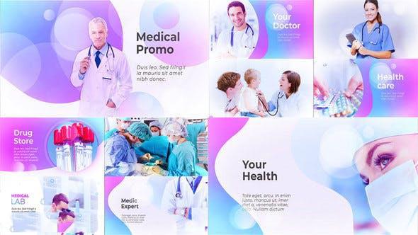 پروژه آماده افترافکت : تیزر تبلیغاتی پزشکی Medical Presentation – Medicine Promo 23309462