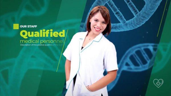 پروژه آماده افترافکت : تیزر تبلیغاتی خدمات پزشکی Medical Promo 149777