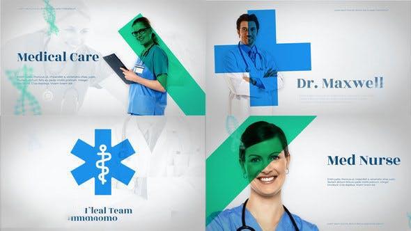پروژه آماده افترافکت : تیزر تبلیغاتی پزشکی Medico – Medical Team Promo 23467026