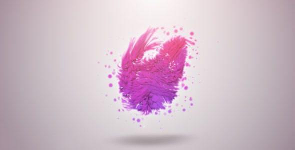 پروژه آماده افترافکت : لوگو پارتیکل Organic Particles Logo Reveal 2074187