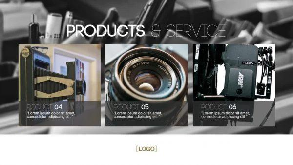 پروژه آماده افترافکت : اسلایدشو تبلیغاتی Perfect Business 8321