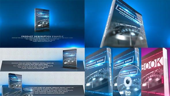 پروژه آماده افترافکت : تیزر تبلیغاتی پک دی وی دی Product Revealer 12349274