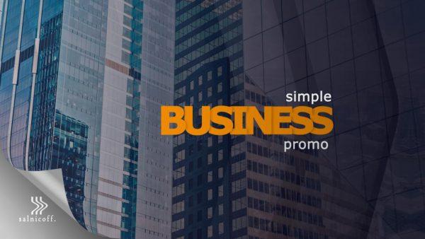 پروژه آماده افترافکت : تیزر تبلیغاتی Simple Business Promo 183562
