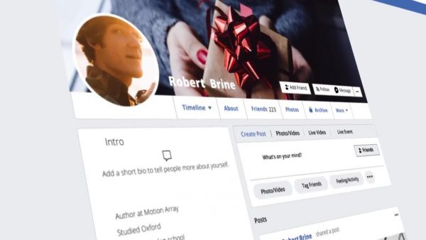 پروژه آماده افترافکت : تیزر تبلیغاتی شبکه های اجتماعی Social Media Posts 152724