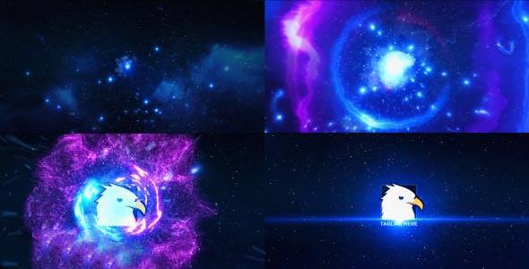 پروژه آماده افترافکت : لوگو انفجار در فضا Space Explosion Logo Opener 16085414